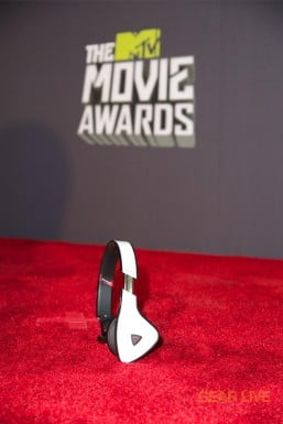 Monster DNA White Tuxedo at 2013 MTV Movie Awards Red Carpet