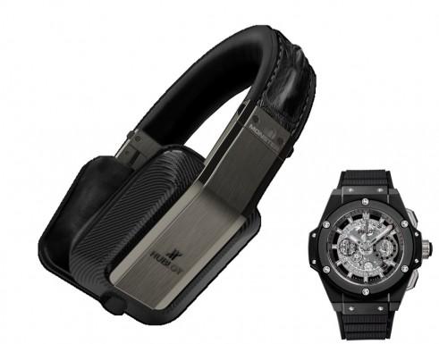 Monster Inspiration Hublot headphones with watch