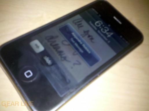 Motorola DROID Pic: iPhone 3GS
