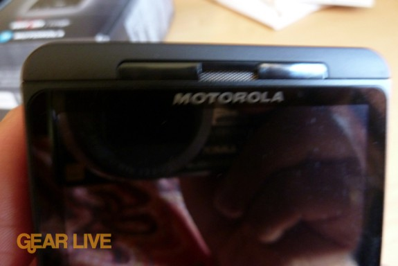 Motorola Droid X earpiece