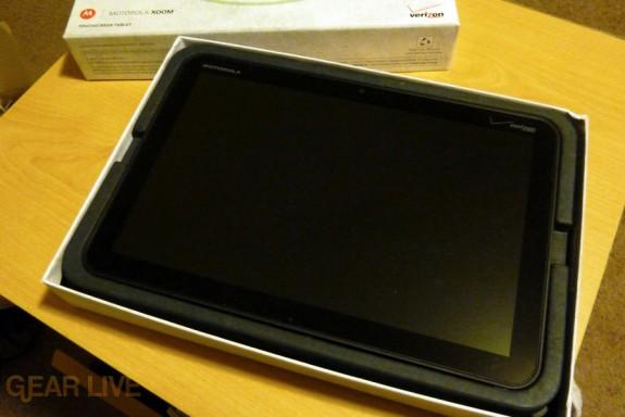 Motorola Xoom in box
