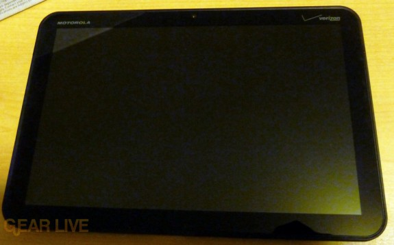 Motorola Xoom tablet screen