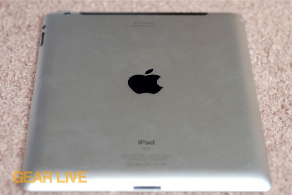 Back of the new iPad