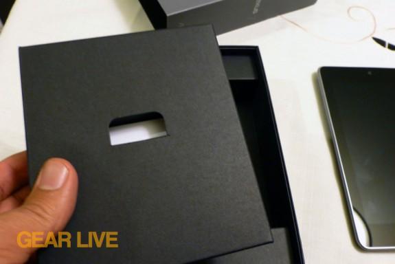 Nexus 7 accessory box