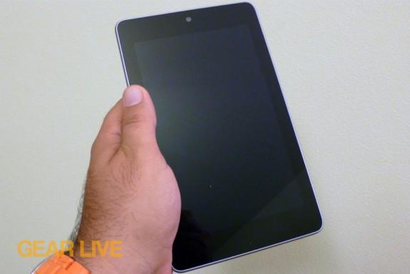 Nexus 7 in-hand