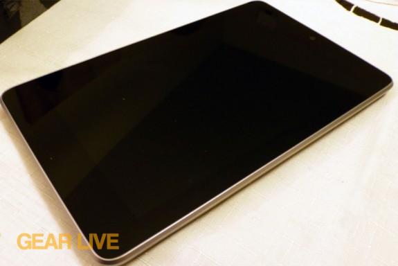 Nexus 7 powered off