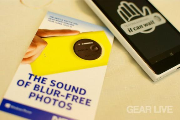 Nokia Lumia 1020 blur-free photos