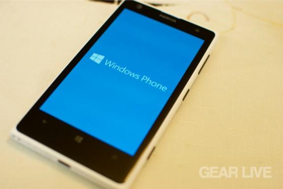 Nokia Lumia 1020 Windows Phone splash screen
