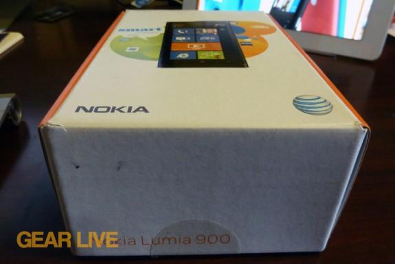 Nokia Lumia 900 boxtop