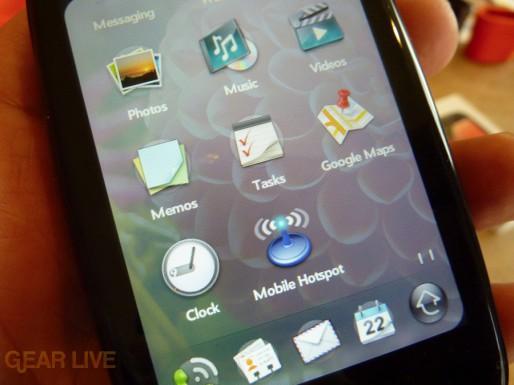 Palm Pre Plus apps