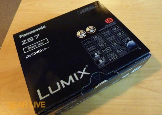 Panasonic Lumix DMC-ZS7 box