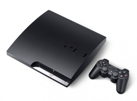 PS3 Slim with Controller