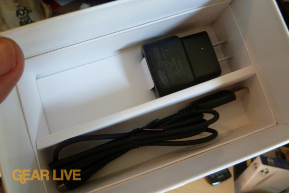 Samsung Captivate USB and AC adapter
