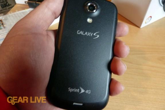 Samsung Epic 4G back