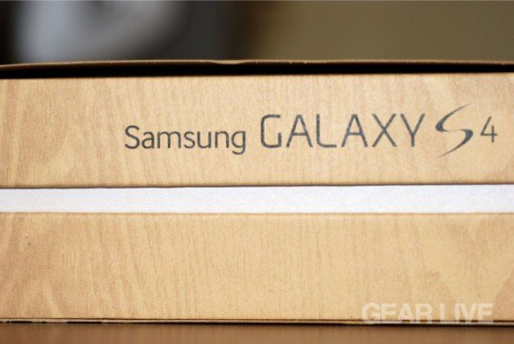 Samsung Galaxy S4 full logo