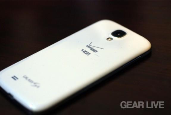 Samsung Galaxy S4 rear