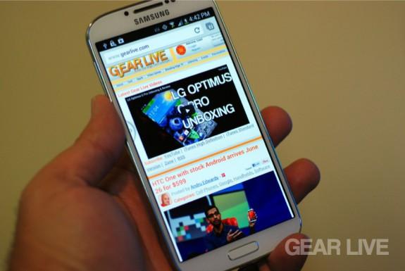 Samsung Galaxy S4 Gear Live