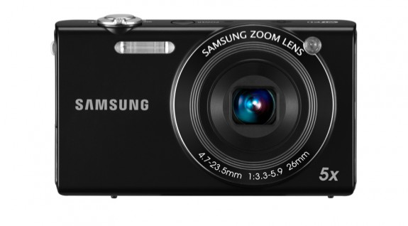 Samsung SH100 lens front