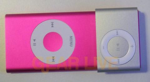 iPod shuffle covers iPod nano screen