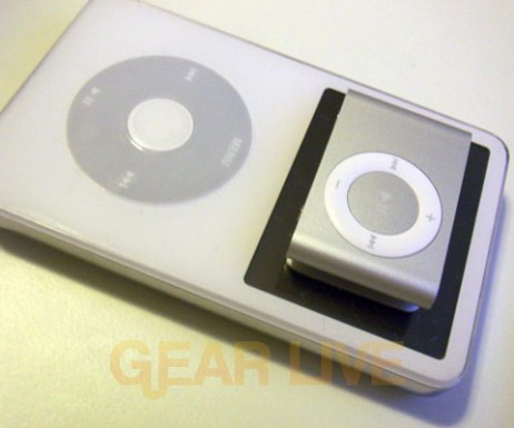 The 2nd Generation iPod shuffle on iPod with video