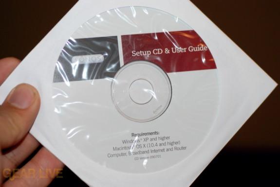 Sonos Desktop software