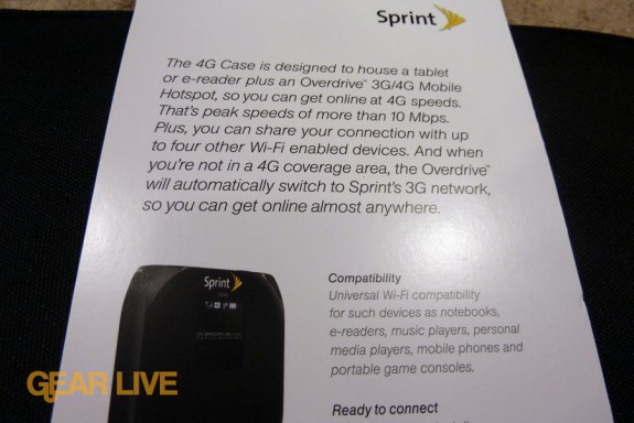 Sprint 3G Case description