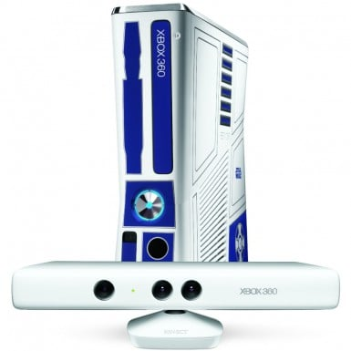 Star Wars Kinect Xbox 360, white Kinect sensor