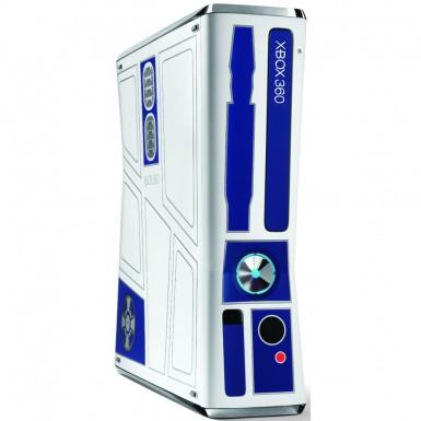 R2-D2 Xbox 360 side