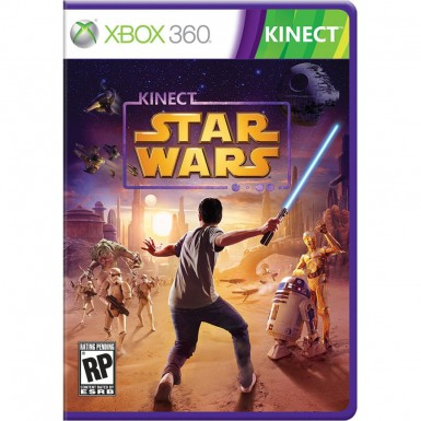 Star Wars Kinect box art