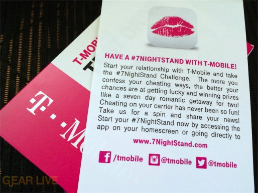 T-Mobile Test Drive #7NightStand