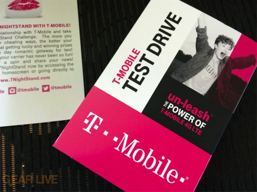 T-Mobile Test Drive iPhone package