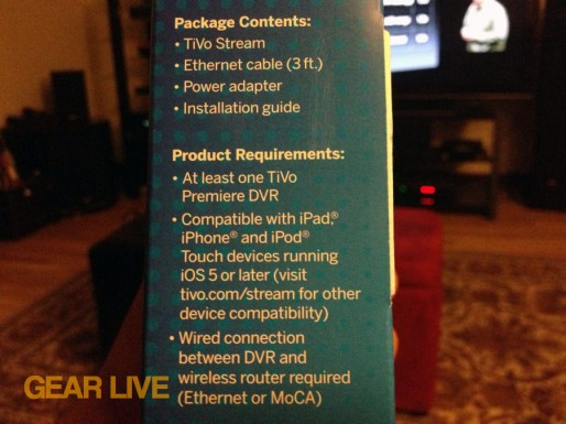 TiVo Stream package contents