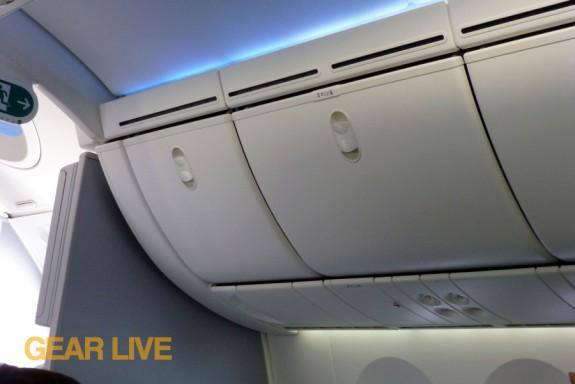 United Boeing 787 Dreamliner Interior