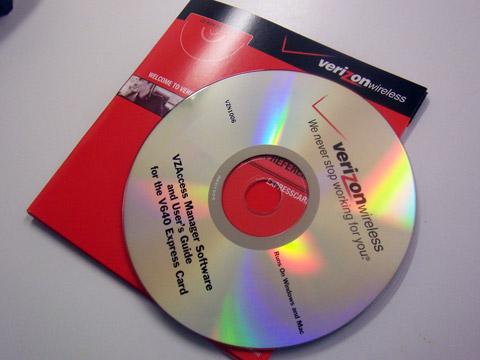 V640 Installation Disc
