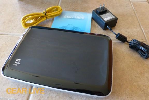 Western Digital My Net N900 HD router unboxed