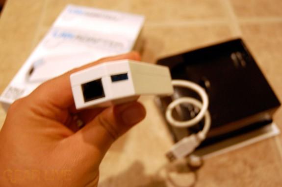 Datel Wii LAN Adapter Up CLose