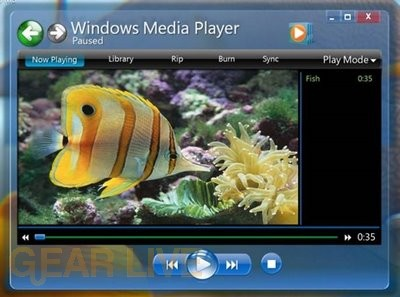 Windows 7 media player