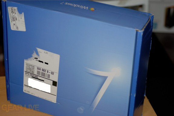 Windows 7 Party Pack box