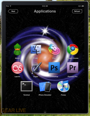 Wormhole Remote application switcher