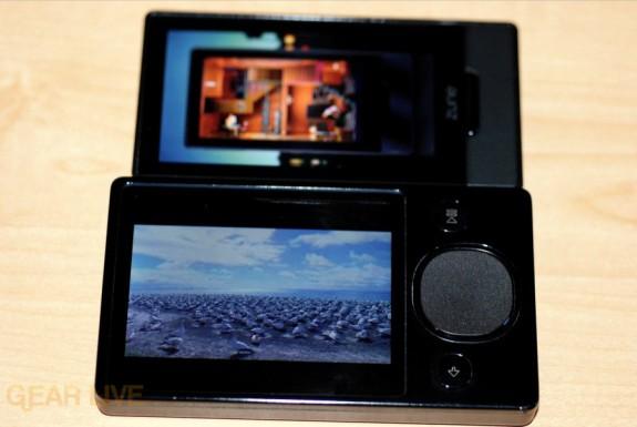 Zune HD video vs Zune 120 video