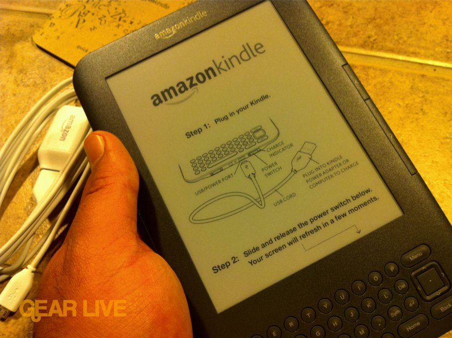 Kindle 3 hands-on
