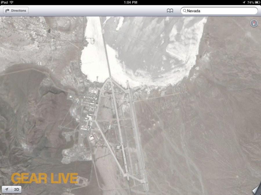 Location Of Area 51 Google Maps Area 51 S Massive New Hangar