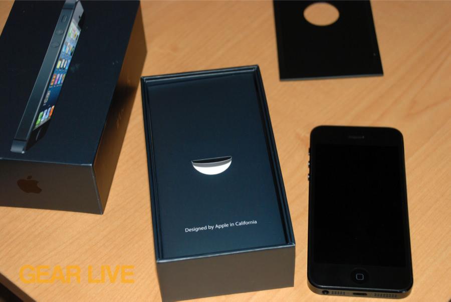 IPhone 5 Black Slate Removed