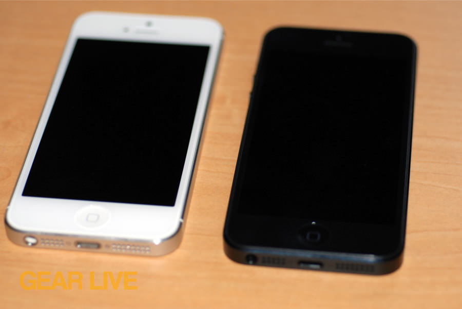 Black White IPhone 5 Front