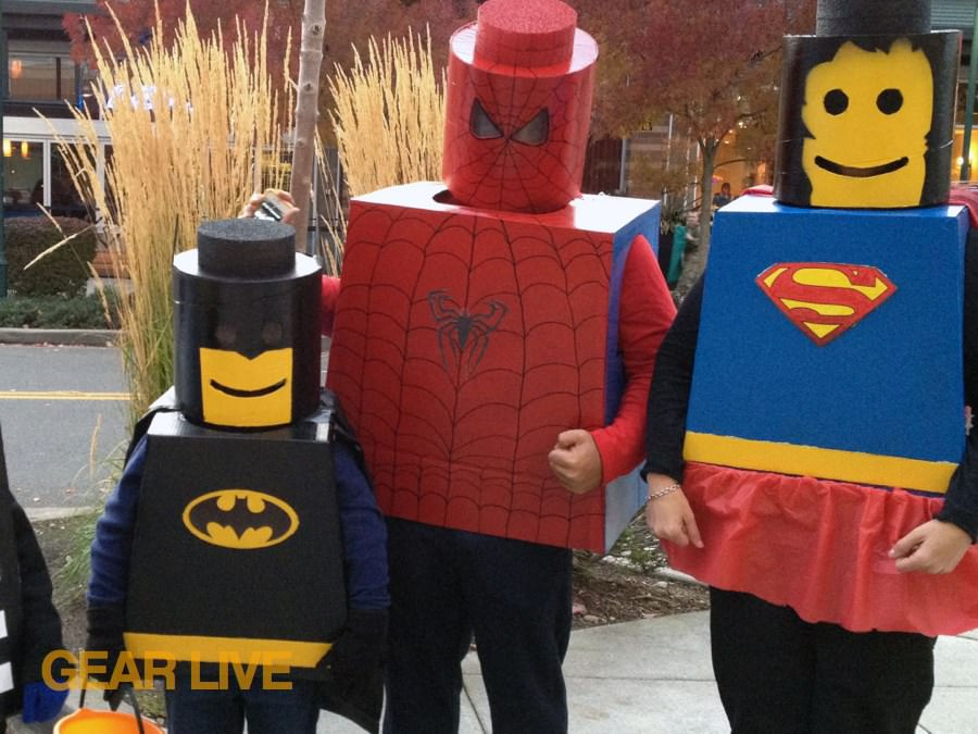 LEGO Superhero Halloween costumes