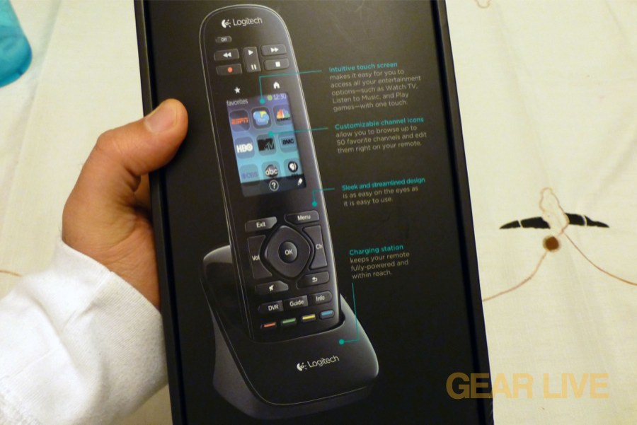 Logitech Harmony Touch unboxing Images | Gallery