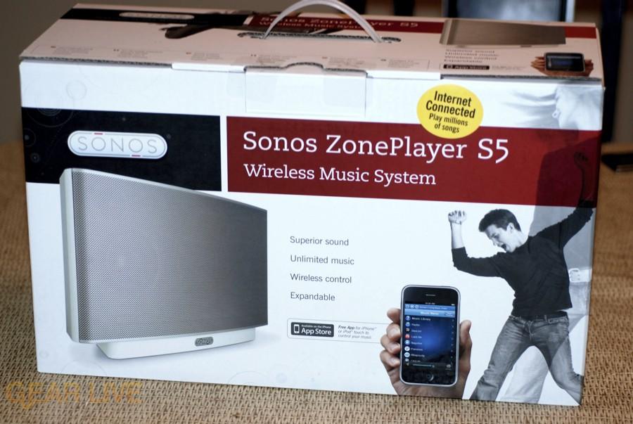 Sonos S5 box front