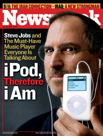 New iPod Newsweek Cover